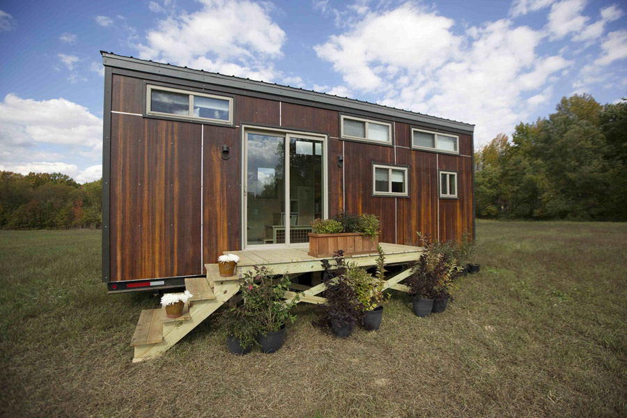 Tiny Home Designs: TINY HOUSE TOWN: The Z Huis From Wishbone Tiny Homes