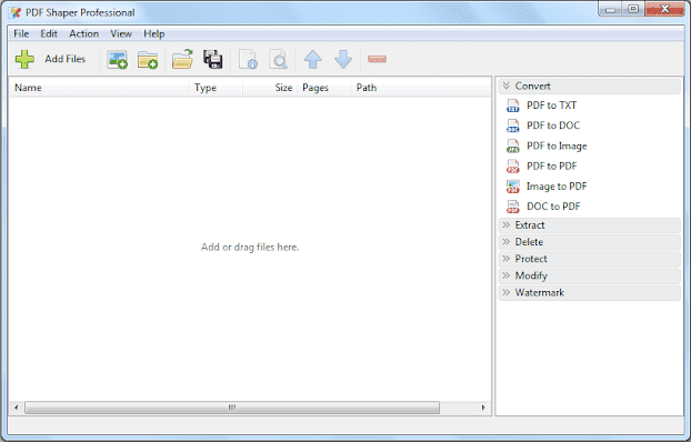 Screenshot PDF Shaper Professional 9.4 Full Version