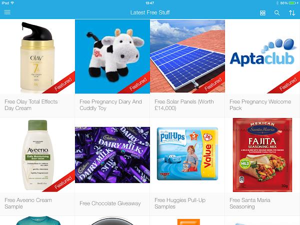 Latest Free Stuff App Review