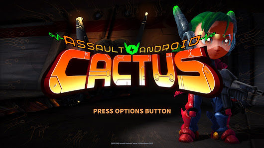 Vote to Play! Assault Android Cactus coming to Playstation 4 in March