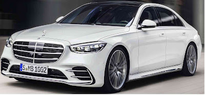 2021 Mercedes S Class Vs compared to BMW 7 Series Audi A8