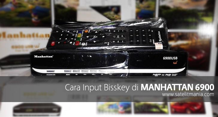 Cara Input Bisskey di Manhattan 6900 USB
