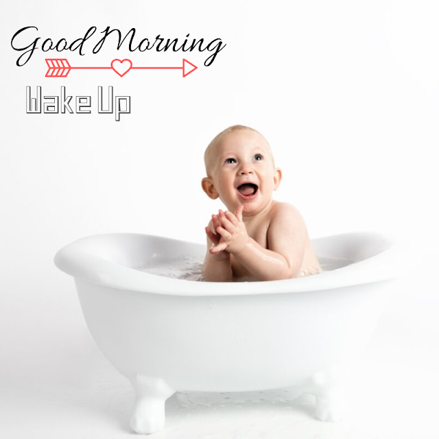 Cute Happy Baby Good Morning Images
