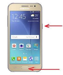 Cara Screenshot Samsung J2 atau Samsung J2 Prime Tanpa Aplikasi