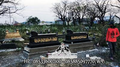 Jenis Kijing Makam Islam Model Terbaru   Makam Uje Granit