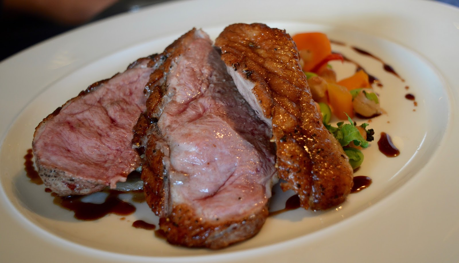 Comfort Food for Autumn at Gusto, Newcastle Quayside | A Review - Pan Roasted Duck