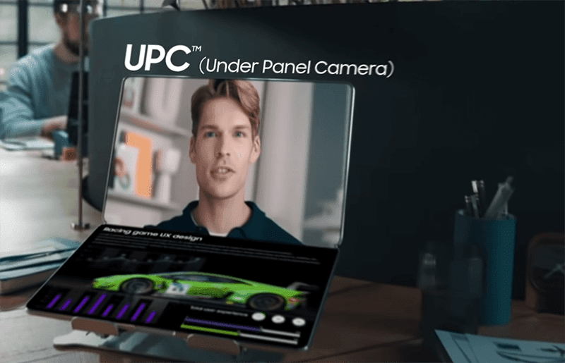 Under Panel Camera