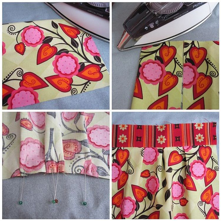 Pleated Zippered Pouch Tutorial