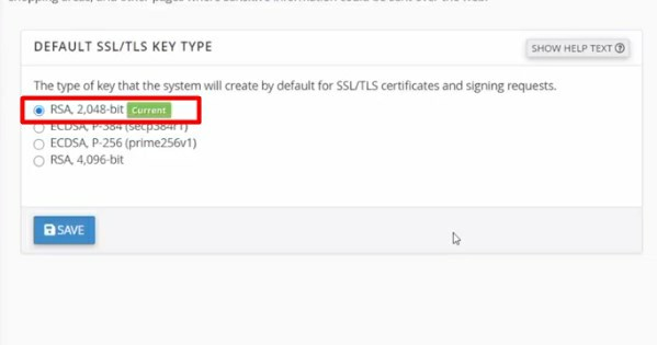 check the status of the SSL certificate to see if it is active or not