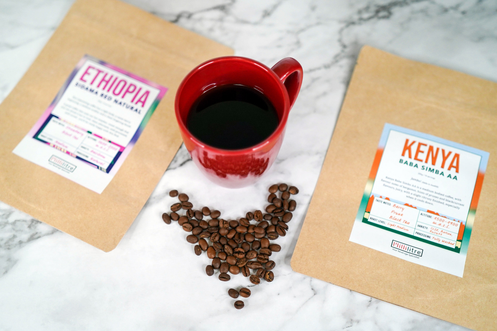 millilitre: coffee beans roasted to order, reaching you within 7 days