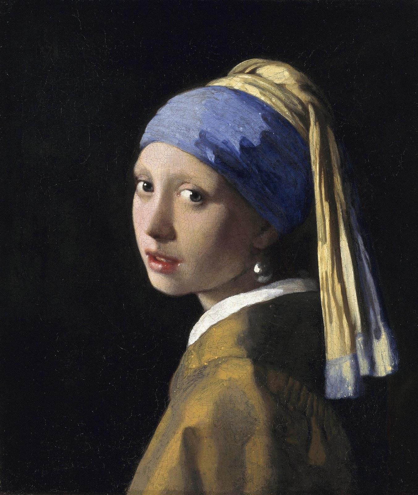 ヨハネス・フェルメールの真珠の耳飾りの少女