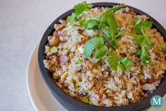 Fried Rice with Duck Liver and Barbecued Meat at Summer Palace at Edsa Shangri-La, Manila