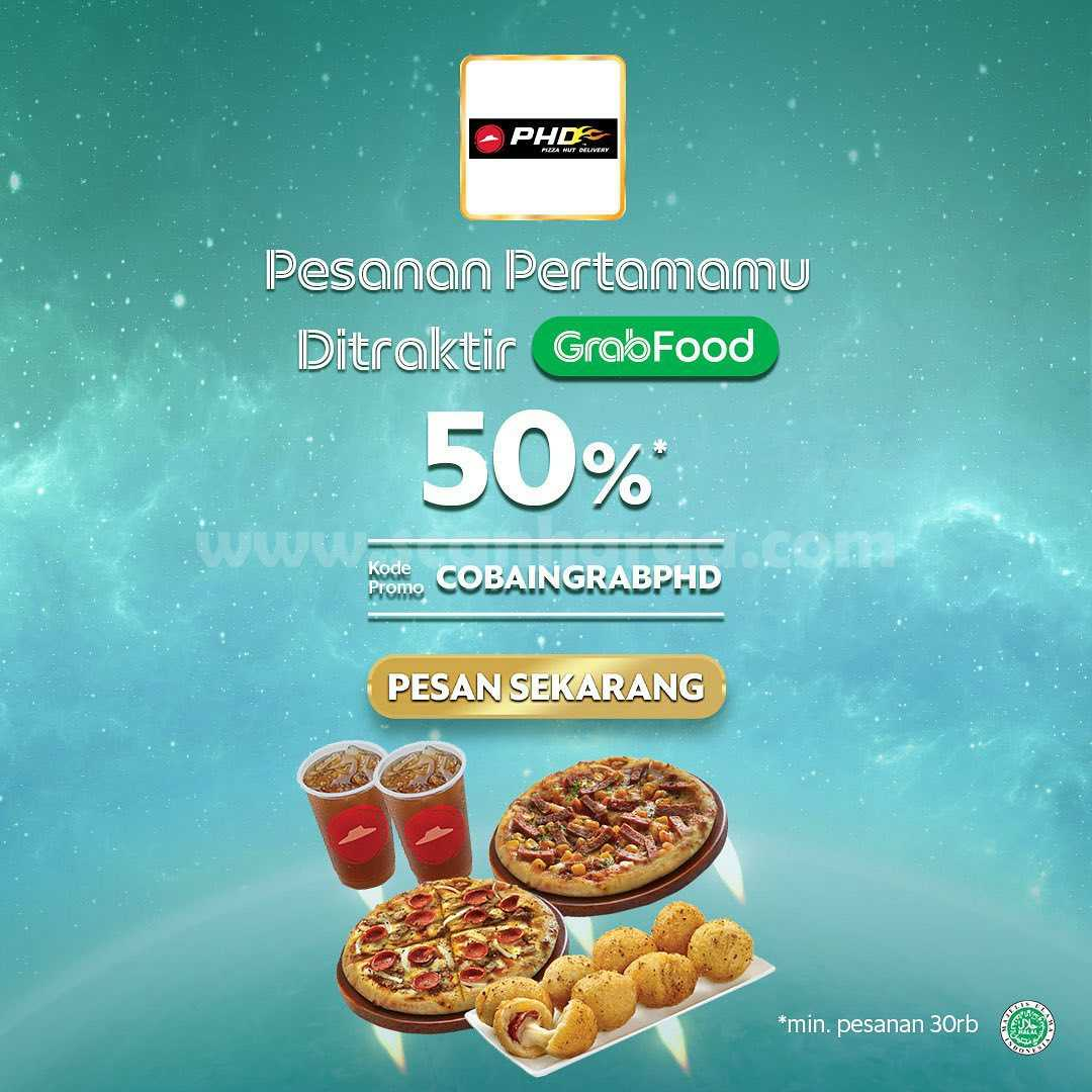 Promo PHD DISKON 50% - Pesanan Pertamamu Ditraktir GRABFOOD