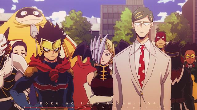 الحلقة - My Hero Academia S4 07 مترجمة