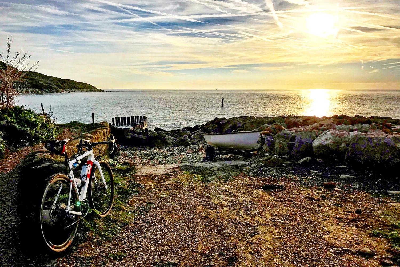 Tim Wiggins 3T Exploro Bike Isle of Wight Niton