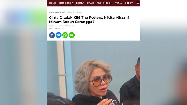 Kiki The Potters Bongkar Wanita Hina HR5 Pernah Minum Baygon hingga Syaraf Otaknya Putus