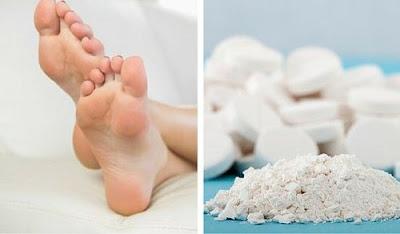 Un truc simple pour éliminer les callosités pieds avec aspirines