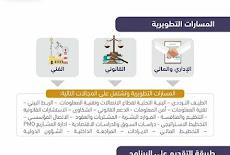 """بدء الإستقطاب الإلكتروني الحكومي اليوم(  1/1/2019 ) للخريجين وللخريجات والشباب السعودي لبرنامج """"التاهيل ، التدريب ، التوظيف"""" ( النخبة) وفقآ لرؤية خادم الحرمين الشريفين 2030"""