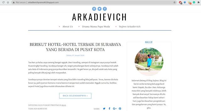 blog arkadievich