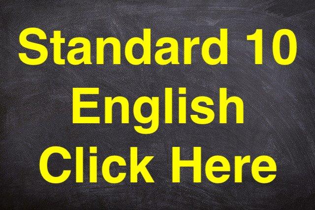 Standard 10 English
