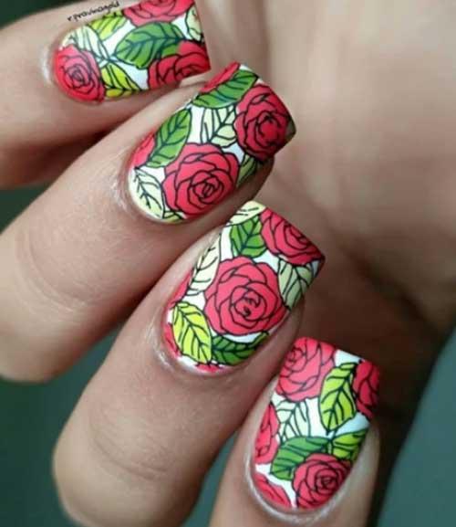 fall fingernail designs