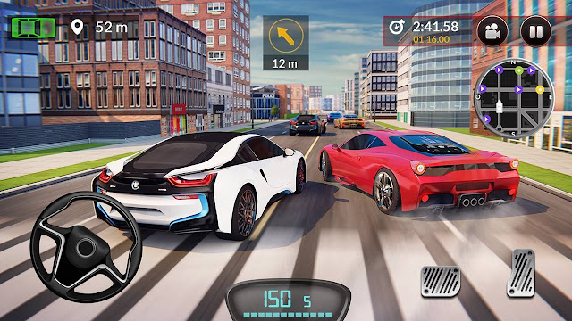 Drive For Speed Simulator V1.18.1 MOD APK – PARA HİLELİ