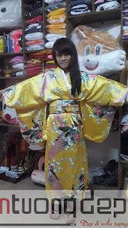 bán cho thuê trang phục kimono