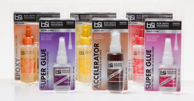 Packaging Design - BSI Super Glue and Epoxy - Studio 101 West Marketing & Design