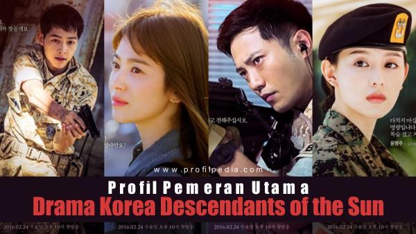 Profil Pemeran Drama Korea Descendants of the Sun Terlengkap