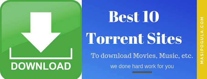 Best 10 Torrent Movie Download Sites.