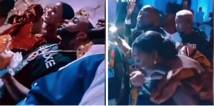Wow! Davido Crashes Wedding Reception Of A Couple In Ghana, Performs Some Of His Hit Songs (Video) #Arewapublisize