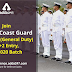 Join Indian Coast Guard (MoD) as Navik (General Duty) 10+2 Entry, 01/2020 Batch