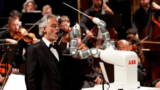 Robot conductor YuMi