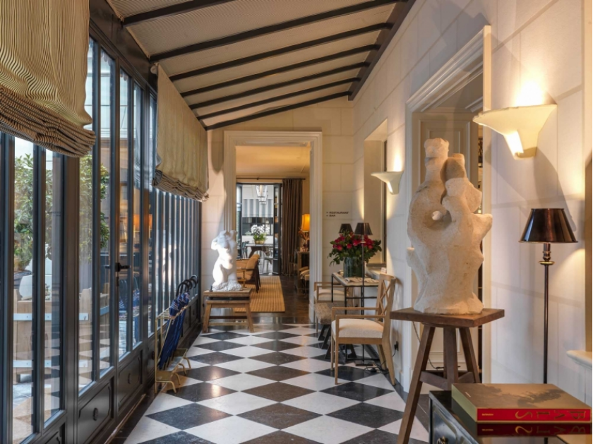 J.K. Place Paris,  A former embassy transformed into one of Paris most luxurious hotels