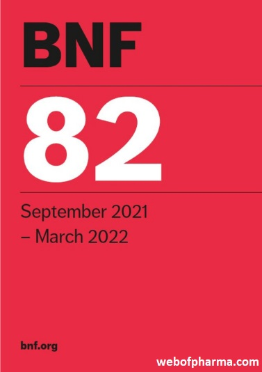 BNF 82 (British National Formulary September 2021 - March 2022)