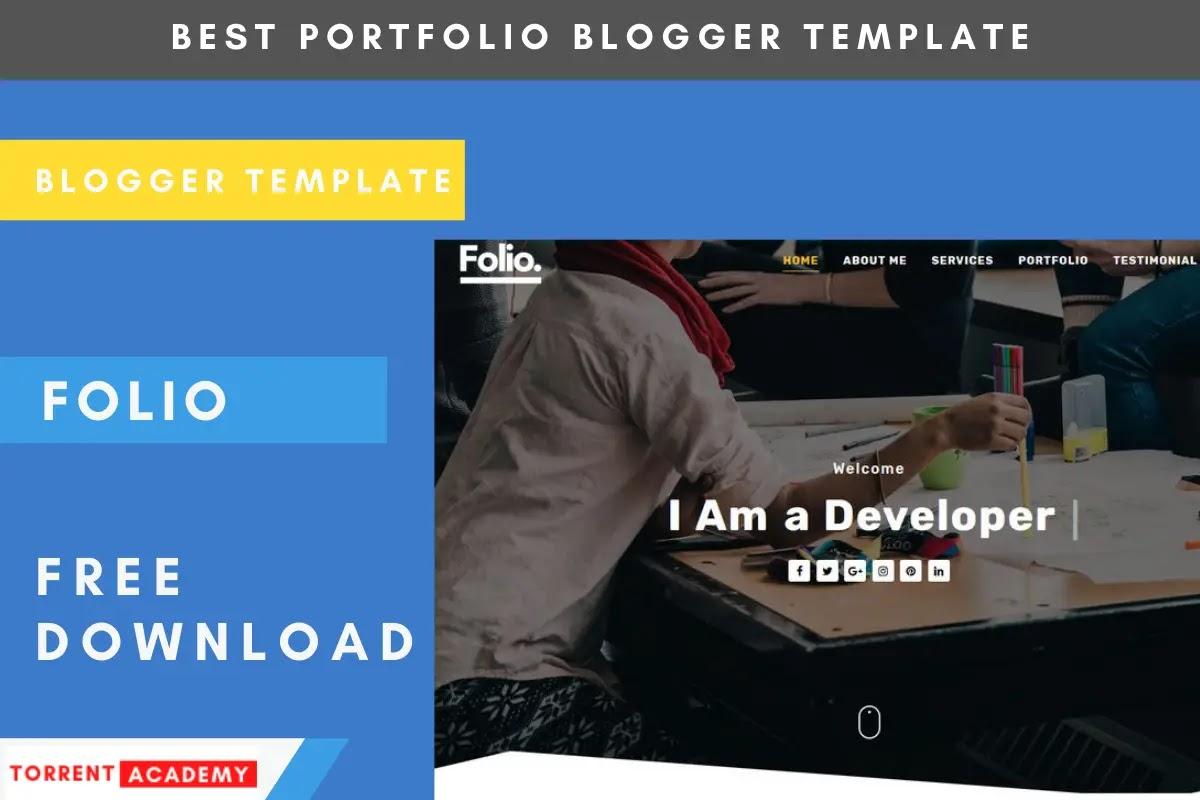 Folio-Blogger-Template-Free