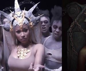 """Nicki Minaj se inspira em Akasha e no filme """"A Rainha dos Condenados"""". Entenda o conceito!"""