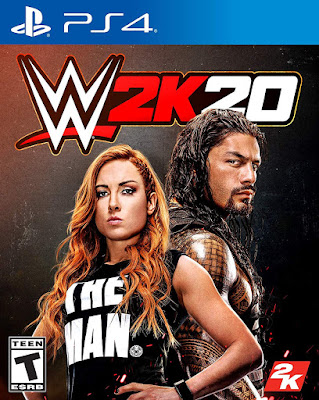 Wwe 2k20 Game Cover Ps4 Standard