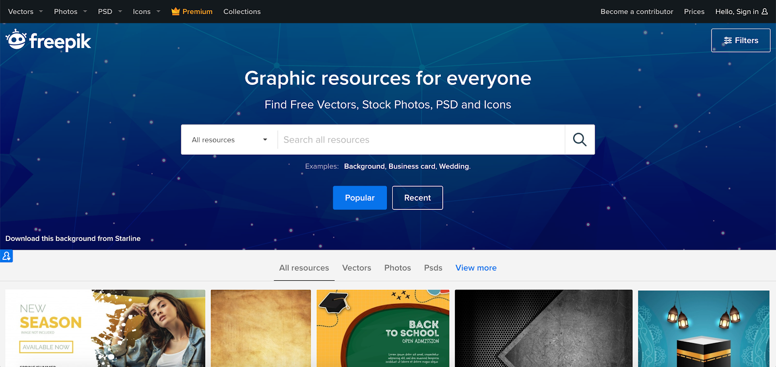 Freepik is a large stock of high-quality vector images, photos, website icons , and PSD templates.