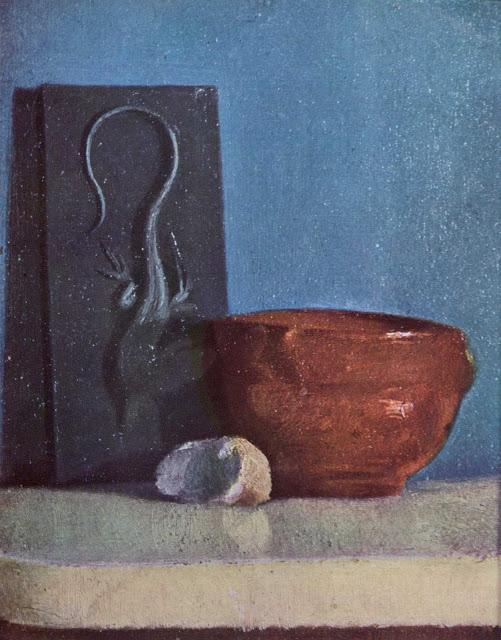 Эдгар Дега - Натюрморт с ящерицей (1858-1860)