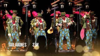 """Presentación con Letra Comparsa """"Los Bailarines"""" de Juan Fernandez (2012)"""