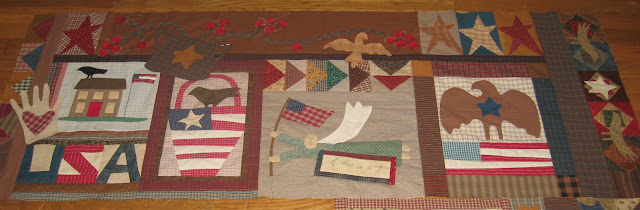 Sweet Land of Liberty, Cheri Payne pattern