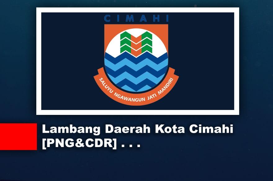 Lambang atau Logo Daerah Kota Cimahi CDR, PNG, JPG