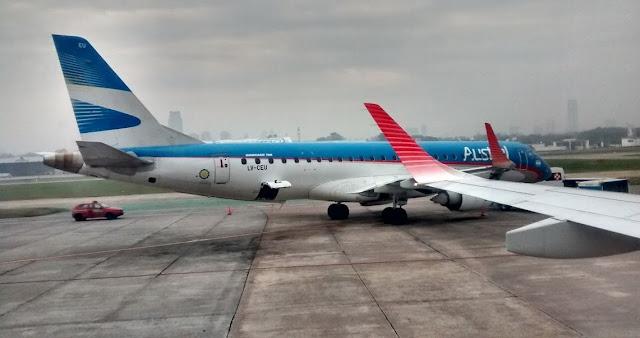 Puntualidad para celebrar en Aerolíneas Argentinas