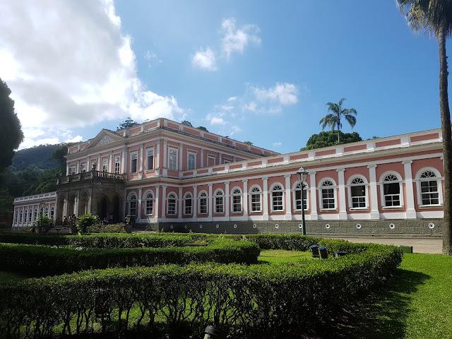 Palácio Imperial, antiga residência da Família Real - Petrópolis, Rio de Janeiro