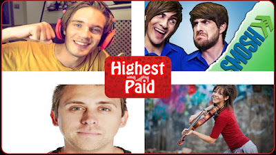 World's highest paid youtube stars revealed