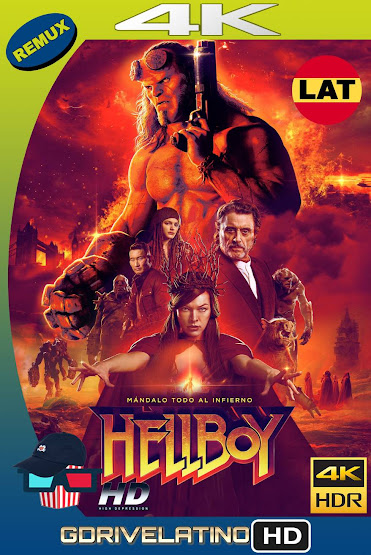 Hellboy (2019) BDRemux 4K HDR Latino-Ingles MKV