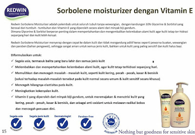 Manfaat Redwin Sorbolene Moisturizer