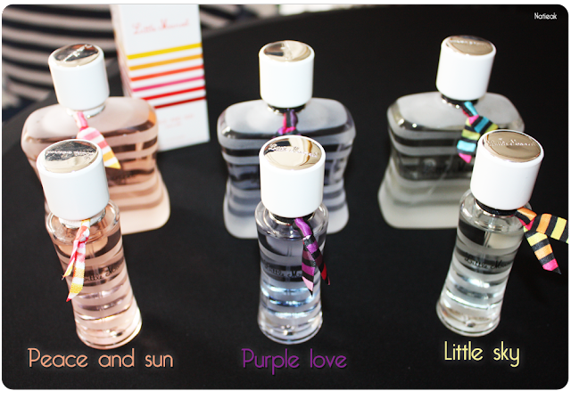 Peace and sun , Little sky et Purple love de Little Marcel