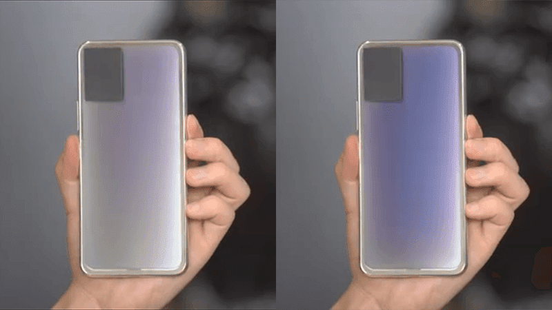 vivo shows a phone prototype with auto color changing back panel